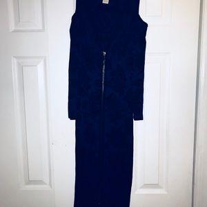 Dresses & Skirts - Cache Black and Blue Dress